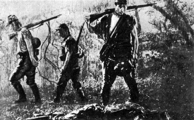 'Полевые огни'. Реж. К. Итикава. 1959
