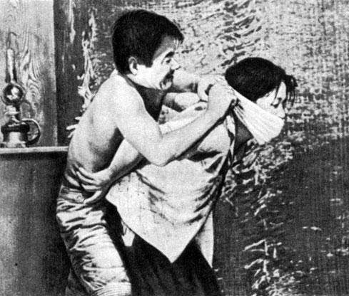 'Женщина в песках'. Реж. X. Тэсигахара. 1964