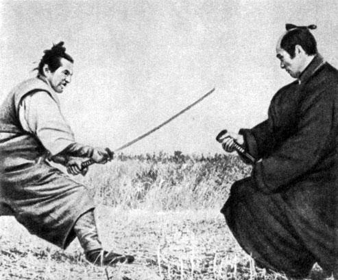 'Восставший'. Реж. М. Кобаяси. (Актёры Т. Мифунэ и Т. Накадай.) 1967