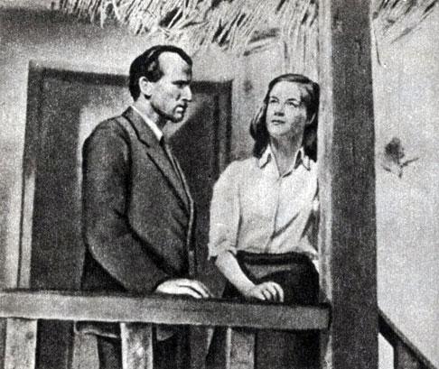 'Убийцы среди нас'. Реж. В. Штаудте. 1946