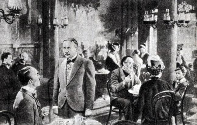 'Верноподданный'. Реж. В. Штаудте. 1951