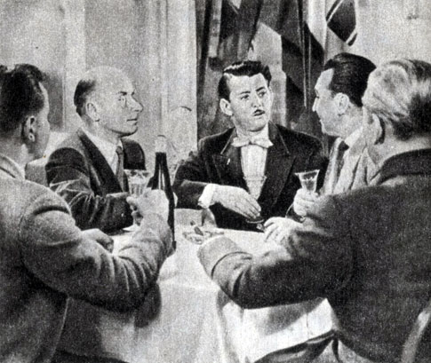 'Капитан из Кёльна'. Реж. З. Дудов. 1956