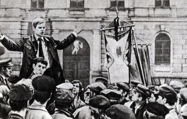 'На пути к Ленину'. Реж. Г. Райш (с СССР). 1970